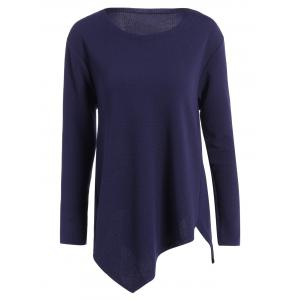 Plus Size Long Sleeve Handkerchief Top