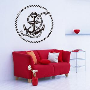 Creative Anchor Removable Living Room Decor Wall Stickers