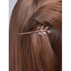Alloy Leaves Hair Accessory