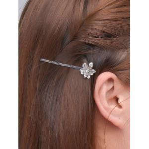 Alloy Floral Hair Accessory