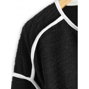 V Neck Piping Knitwear -
