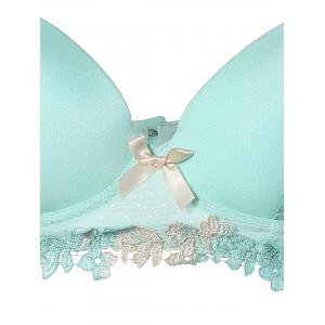 Вышитые Push-Up Bra Set -