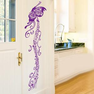 Artistic Butterfly Musical Note Room Decor Wall Stickers -