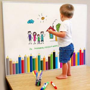 Pencil Removable Kids Room Wall Stickers - COLORFUL