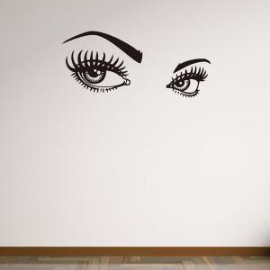 130*57CMCharming Eyes Pattern Removable Wall Stickers Room Decor -