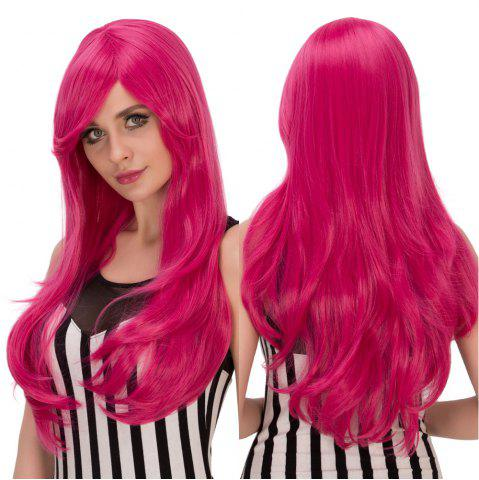 Outfit Wavy Long Tail Adduction Oblique Bang Lolita Wig