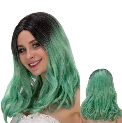 Store Long Shaggy Centre Parting Wavy Colormix Lolita Wig