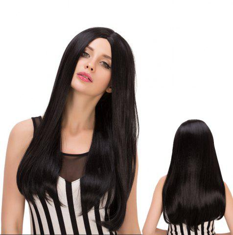 Buy Long Centre Parting Tail Adduction Heat Resistant Fiber Wig