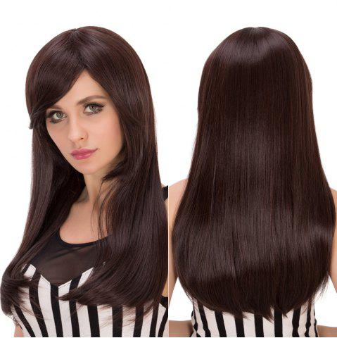 Shops Long Side Bang Tail Adduction Heat Resistant Fiber Wig