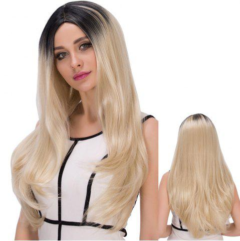 Shops Long Centre Parting Colormix Straight Synthetic Wig COLORMIX