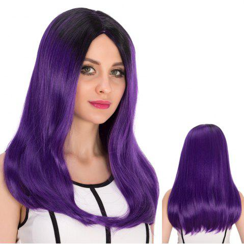Hot Long Centre Parting Tail Adduction Stunning Cosplay Synthetic Wig