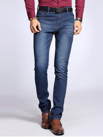 Latest Pocket Rivet Zipper Fly Stretchy Label Jeans