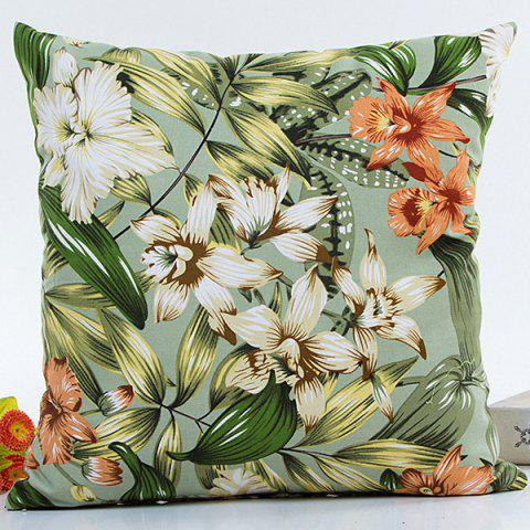 Online Hot Sell Florals Printed Decorative Household Pillow Case