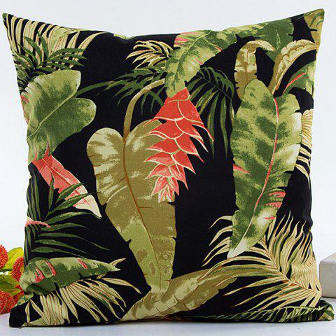 Trendy Hot Sell Forest Printed Decorative Household Pillow Case