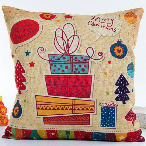 Colorful Christmas Gifts Hot Sell Decorative Household Pillow Case - COLORFUL