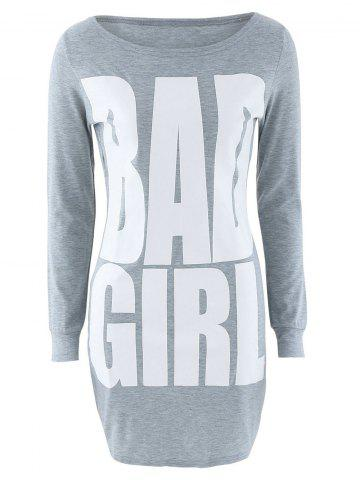 Outfit Bad Girl Graphic Slimming Dress