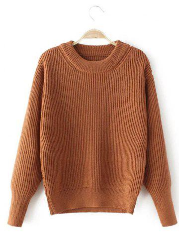 Stretchy Casual Loose Sweater - GINGER ONE SIZE