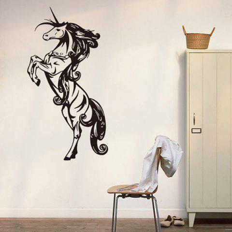 Fancy Horse Animals Removable Living Room Decor Wall Stickers -   Mobile