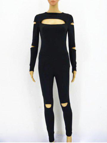 Latest Cut Out Zip Up Jumpsuit