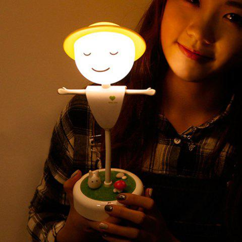 Latest Creative Induction LED USB Charging Scarecrow Micro Landscape Night Light