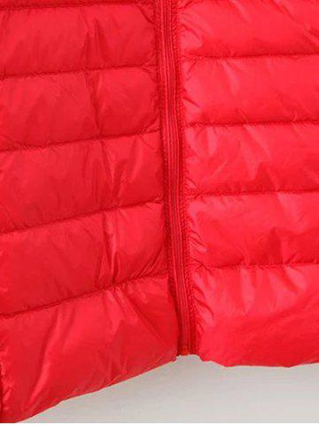 New Long Sleeve Padded Down Jacket - 4XL CADETBLUE Mobile