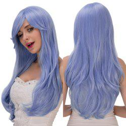 Long Wavy Inclined Bang Tail Adduction Lolita Synthetic Wig