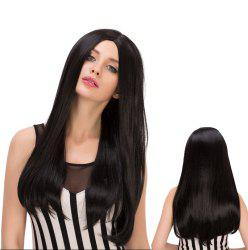 Long Centre Parting Tail Adduction Heat Resistant Fiber Wig -
