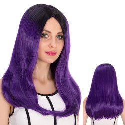 Long Centre Parting Tail Adduction Stunning Cosplay Synthetic Wig -