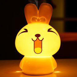 Essential Oil Drive Midge Purify Air Cartoon Ceramic NiNi Rabbit Night Light