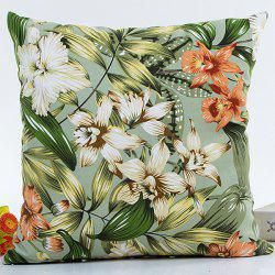 Hot Sell Florals Printed Decorative Household Pillow Case -