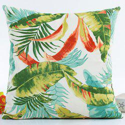 Forest Printed Hot Sell Decorative Household Pillow Case -
