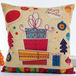 Colorful Christmas Gifts Hot Sell Decorative Household Pillow Case -