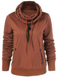 Cowl Collar Jumper Sweatshirt