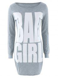 Bad Girl Graphic Slimming Dress -
