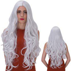 Ultra Long Centre Parting Wavy Party Wig