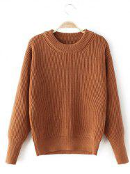 Stretchy Casual Loose Sweater -