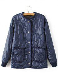 Confortable texturé Motif Jacket -