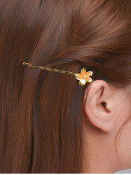 Alloy Floral Hair Accessory - GOLDEN