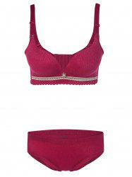 Push-Up Underwired Adjustable Bra Set