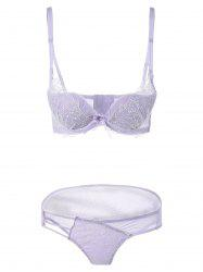 Under Wire Push-Up Bra Set -