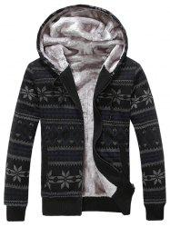 Zippé Blend Slim Fit Cotton Hoodie -