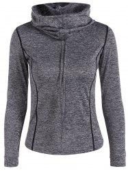 Sports Wear Drawstring Hoodie -
