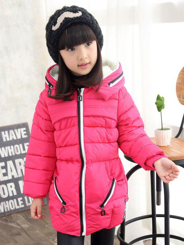 Store Girls Hooded Long Coat