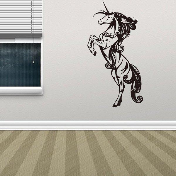 Animaux de cheval amovible salon Decor Stickers muraux