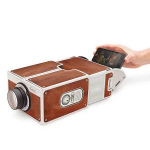 Portable Mini DIY Home Theater Smart Phone Projector