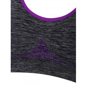 Racerback Padded Gym Sports Bra -