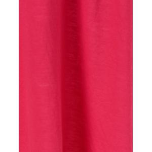 Fawn Christmas Fit and Flare Mini Dress - RED XL
