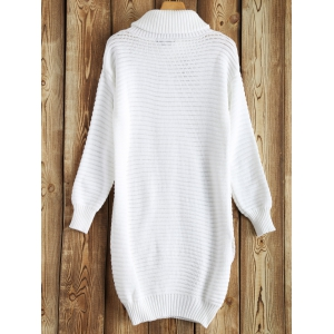 Long Sleeve Bodycon Knitted Jumper Dress -