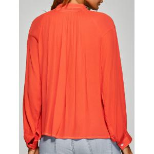 Loose Ruched Shirt -