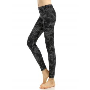Printed High Stretchy Running Leggings -